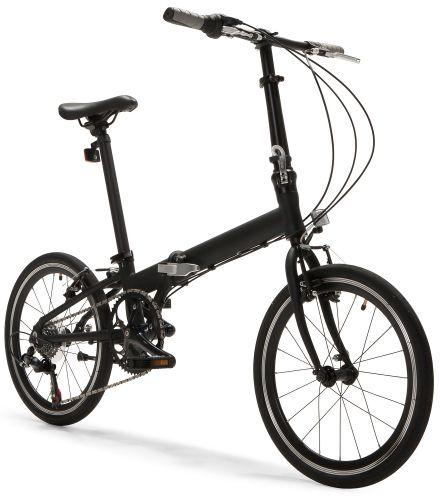 Tourer Gt 6 Gear Folding Bike In Stealth Black 269 Made Com