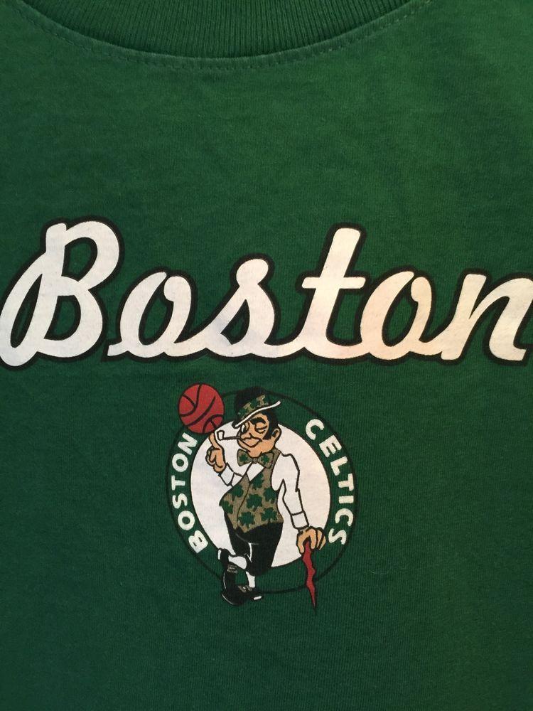 outlet store 4c2c3 dcbb5 NBA For Her Boston Celtics Logo Womens Size Medium Green ...