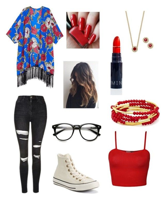 """""""💙❤️"""" by carissacapuzzi on Polyvore featuring Melissa McCarthy Seven7, Converse, Topshop, Givenchy, Chrysalis, Nevermind and WearAll"""