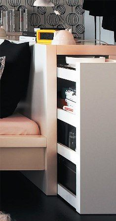 Storage Space In Bed Frame Deco Maison Design Tete De Lit Ikea Tete De Lit Chevet