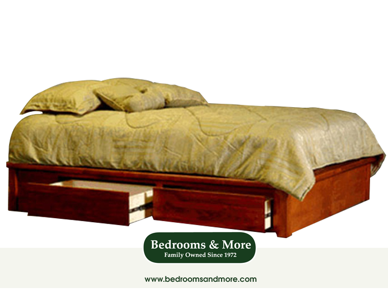 Captains Bed American Woodcraft Bedrooms More Seattle Captains Bed Platform Bed Bed