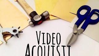 La mia piccola collezione di fustelle per la big shot (per metalli) Decoemboss Vintaj - YouTube