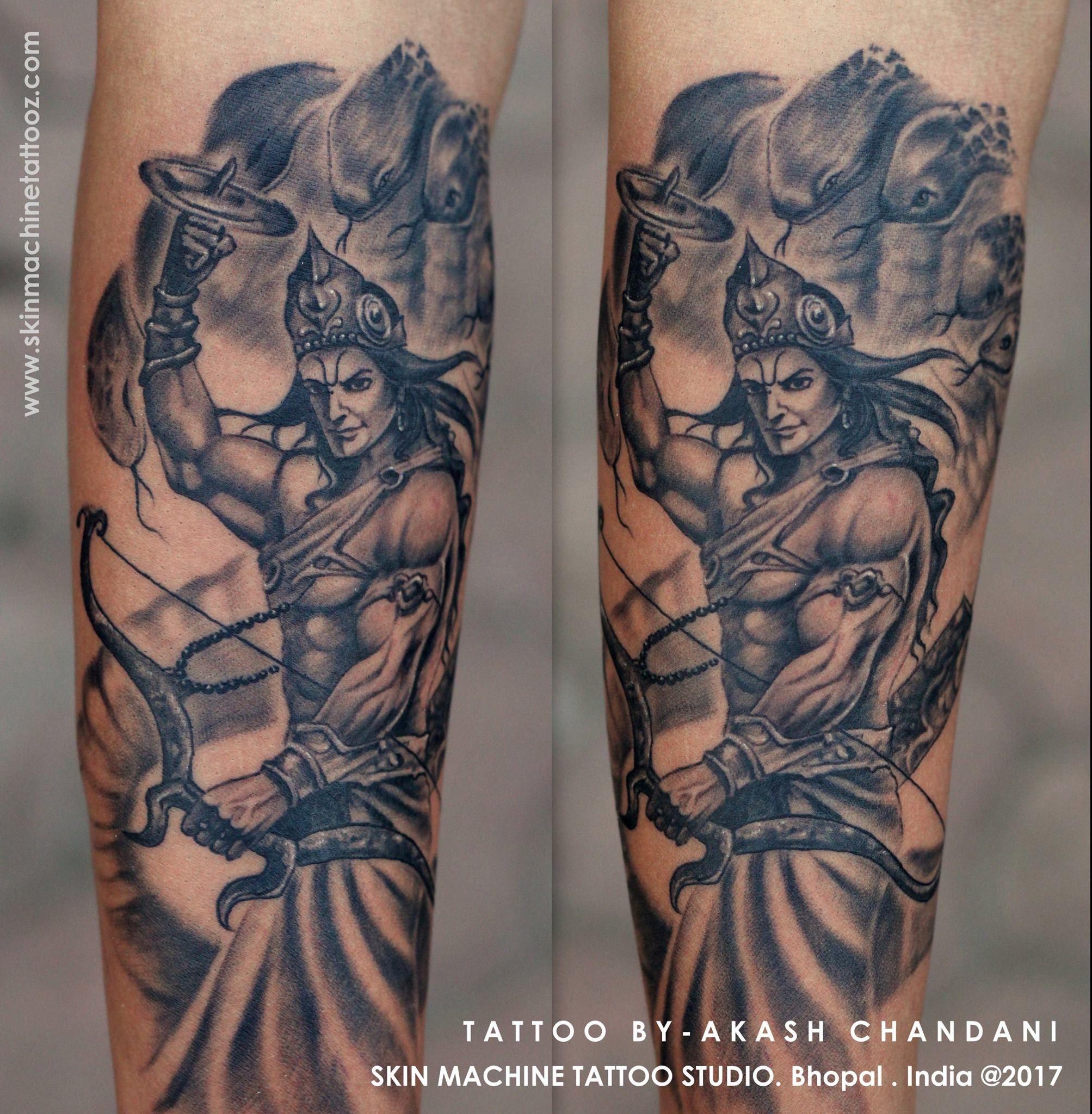 lord vishnu by akash chandani the lord of peace