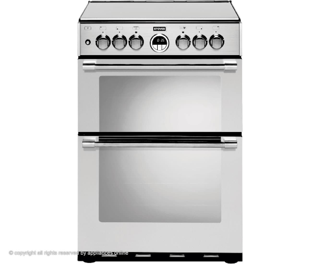 STERLING600DF_SS | Stoves dual fuel cooker | ao.com | Kitchen ...