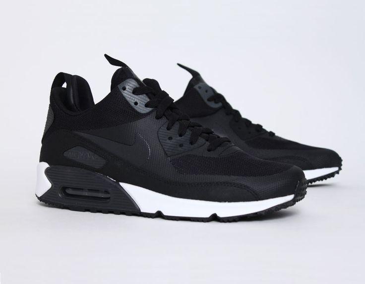 Air Max Chaussures Nike Clip En Noir Et Blanc
