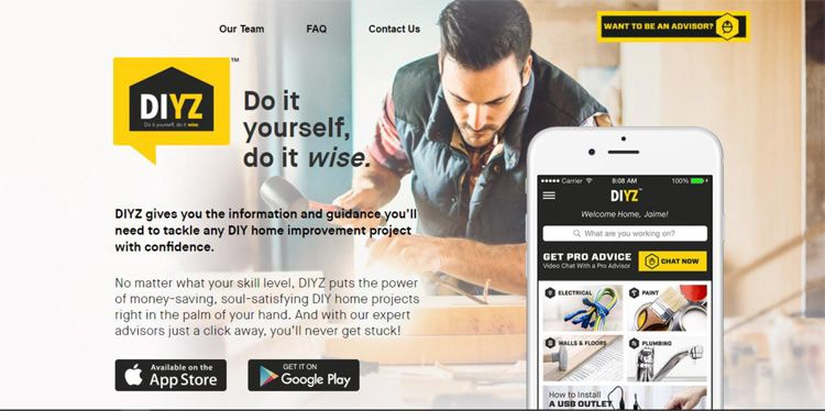 A Smartphone App For Diy Projects Diy Projects Design Smartphone Apps Diyz
