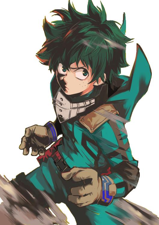 Midoriya Izuku Boku No Hero Academia Hero My Hero