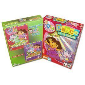 Dora the Explorer 3 Game Set (2 Box Set) « Game Searches