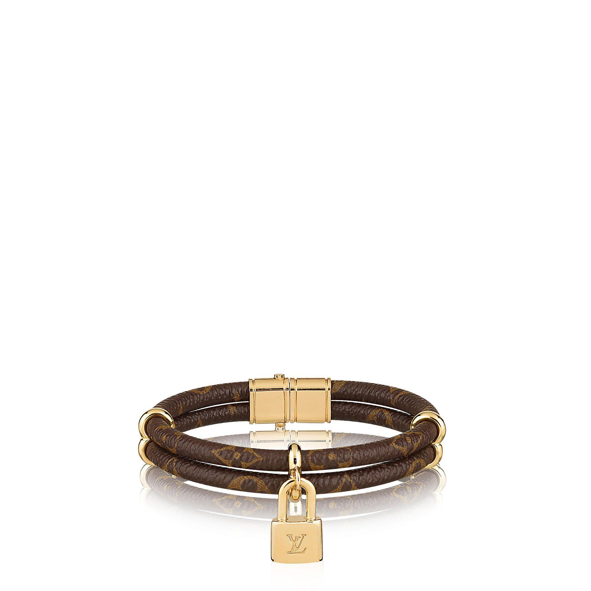 Discover Louis Vuitton Keep it Twice Monogram Bracelet via Louis Vuitton 8f58988ae3b