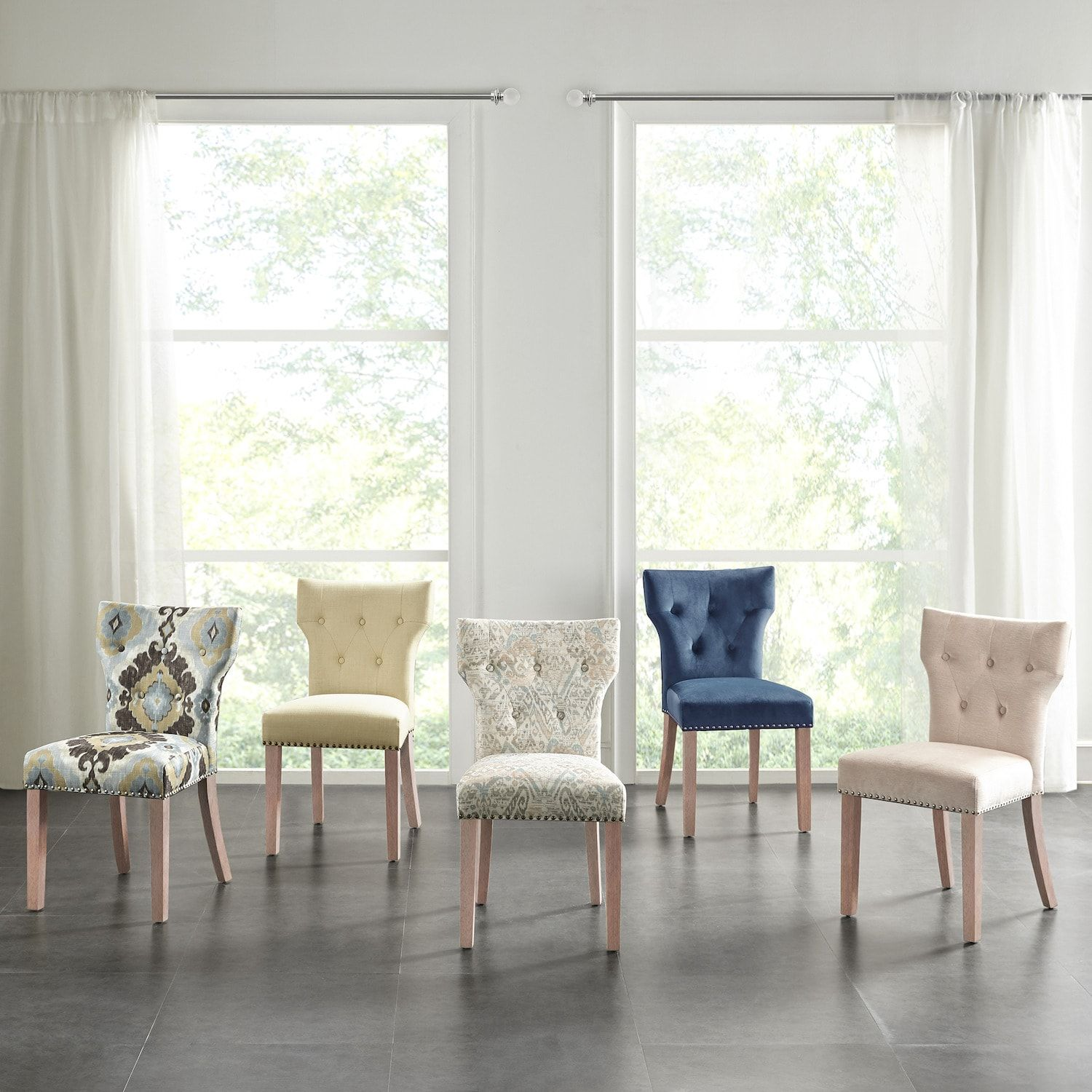Madison Park Emilia Tufted Back Dining Chair in 2020 ...