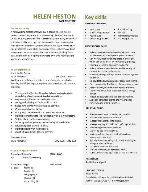 Resume Format For Clinical Pharmacist  HttpTopresumeInfo