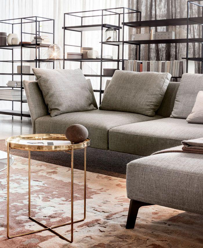 Textures Metallic Living Room Trends Designs And