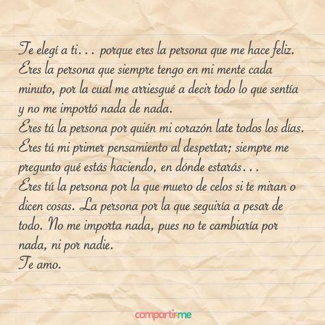 Frasesdeamor Pro Cartas De Amor Románticas Cartas De Amor A Tu Novio Amor Romantico