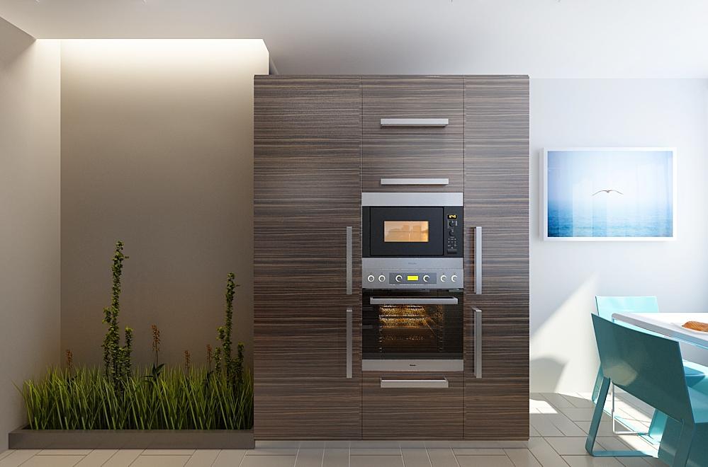 Мини огород прямо на кухне Http://interior.pro/interiors/