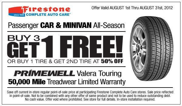 Buy 3 Get 1 Free Tires >> Buy 3 Get The 4th Free Or Buy 1 Get 50 Off Second Tire When You Buy
