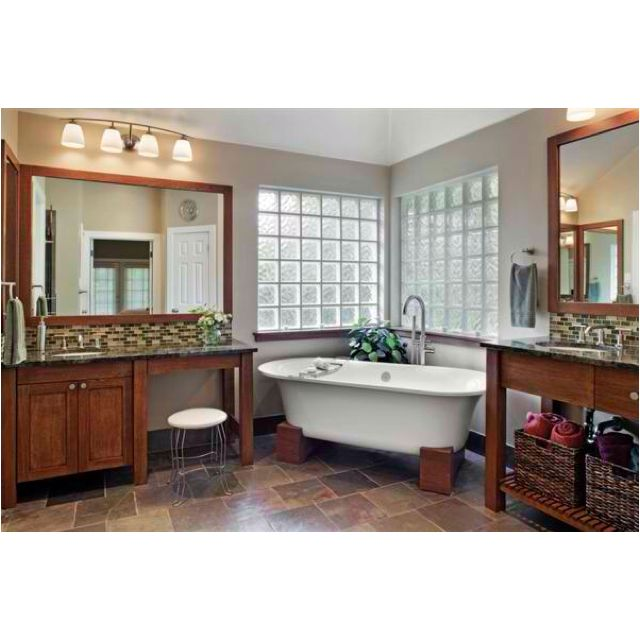 craftsman style bathroom | architecture and design | pinterest