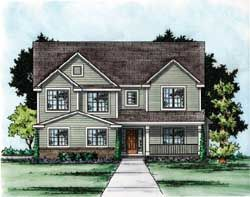 Traditional House Plan 4 Bedrooms 3 Bath 2498 Sq Ft Plan 10 1714