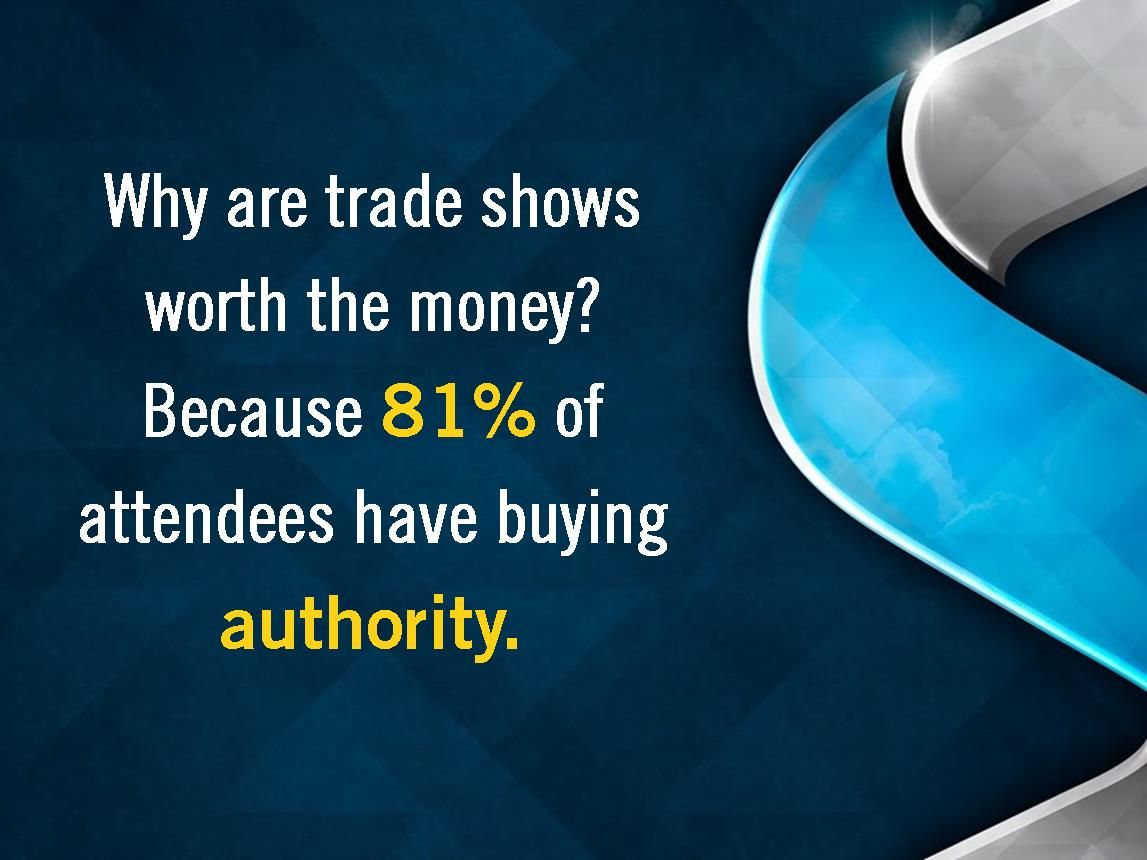 Why are trade shows worth the money? #skylineexhibits #valueoftradeshows