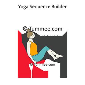 boat pose variation on chair yoga navasana variation on