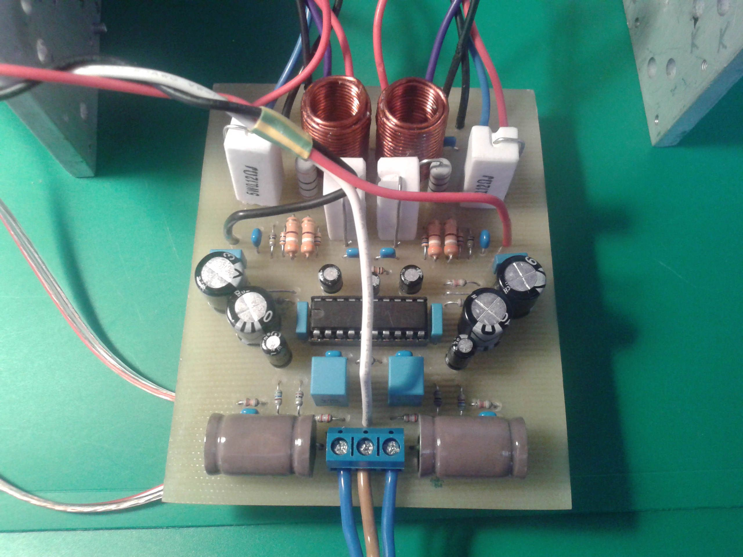 Tda7377pcb Amplifier T 60 Watts Audio Circuit Using Tda7296 Class Ab Tda7250 Foto 1