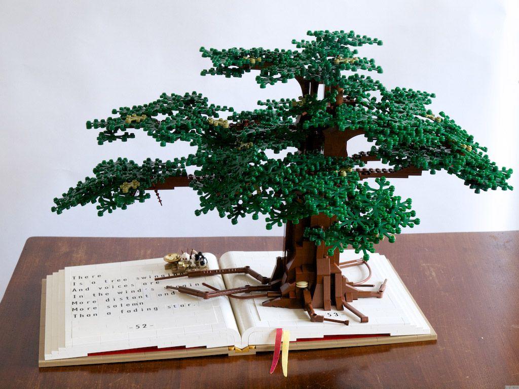 Moc Lego Beautiful Trees Lego Sculptures Lego Art Lego Tree