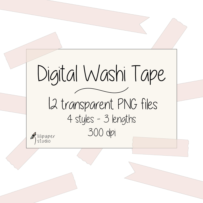 Pin On Lilipaperstudio Digital Washi Tape