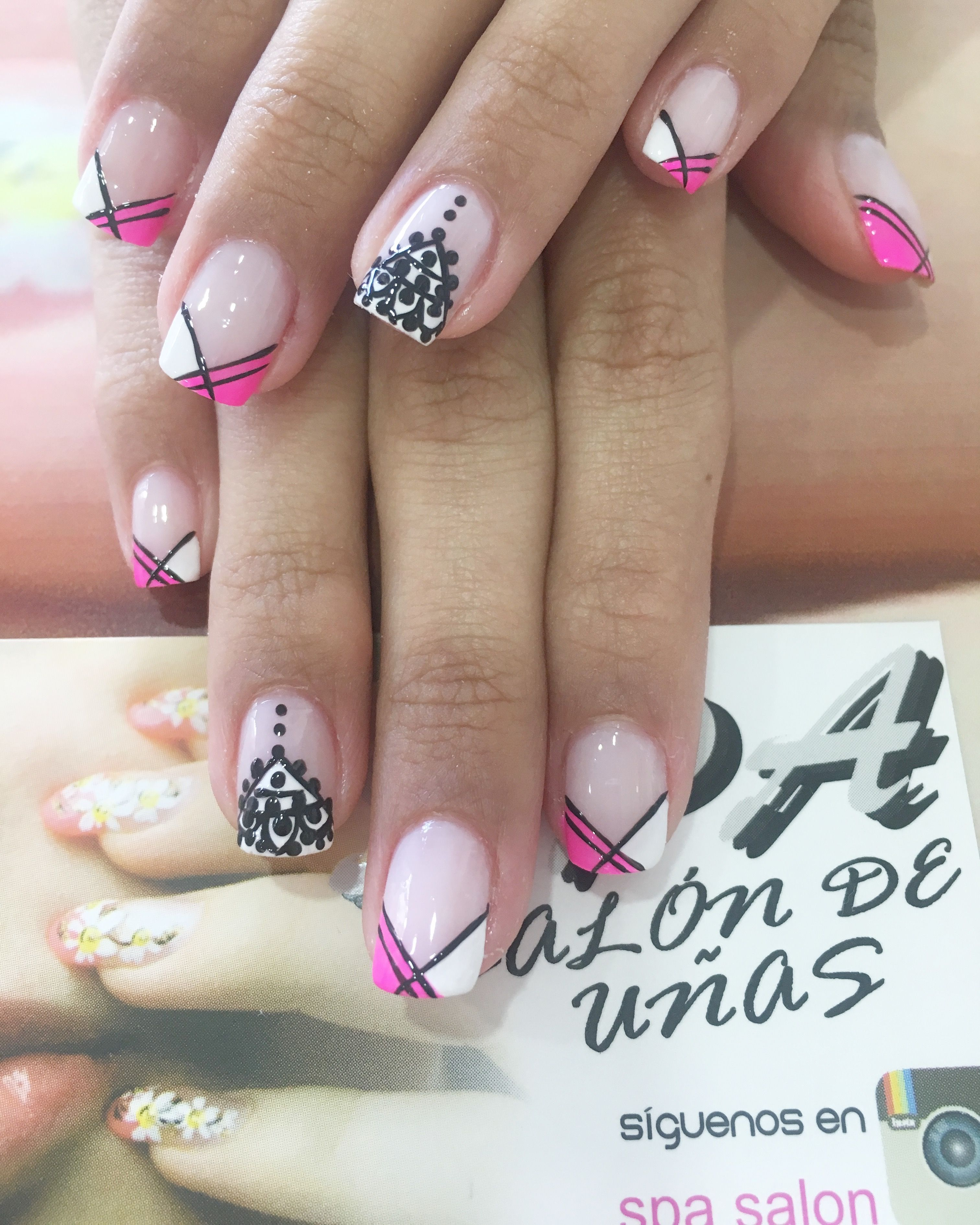 Excelente Ideas De Uñas Estante De La Pared Polaco Cresta - Ideas de ...