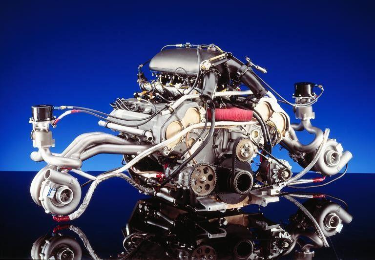 Mercedes m119 twin turbo | Amazing machines | Motor engine