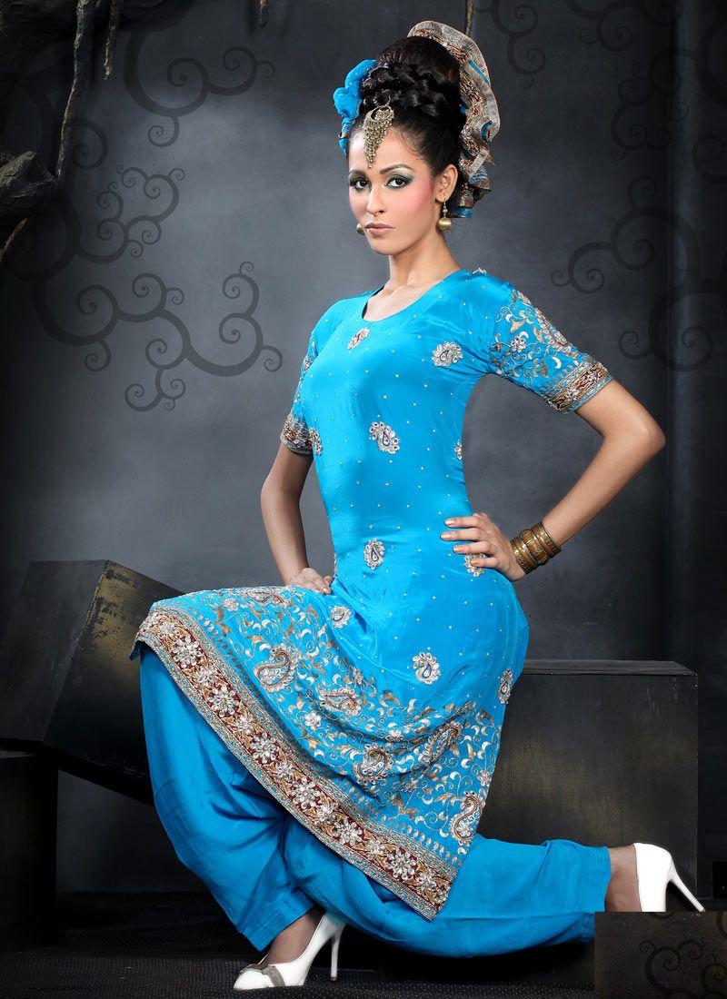 Appealing Salwar Suit : Cbazaar | Bride/groom party | Pinterest ...
