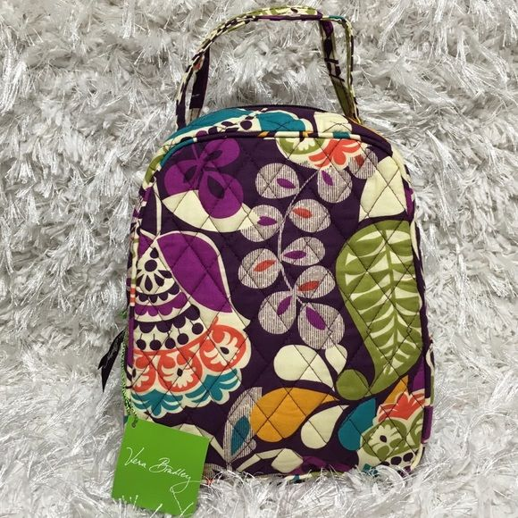 PLUM CRAZY Lunch Bunch Bag- Great For Baby Bottles New with original tag!  Vera 63fc873dfc