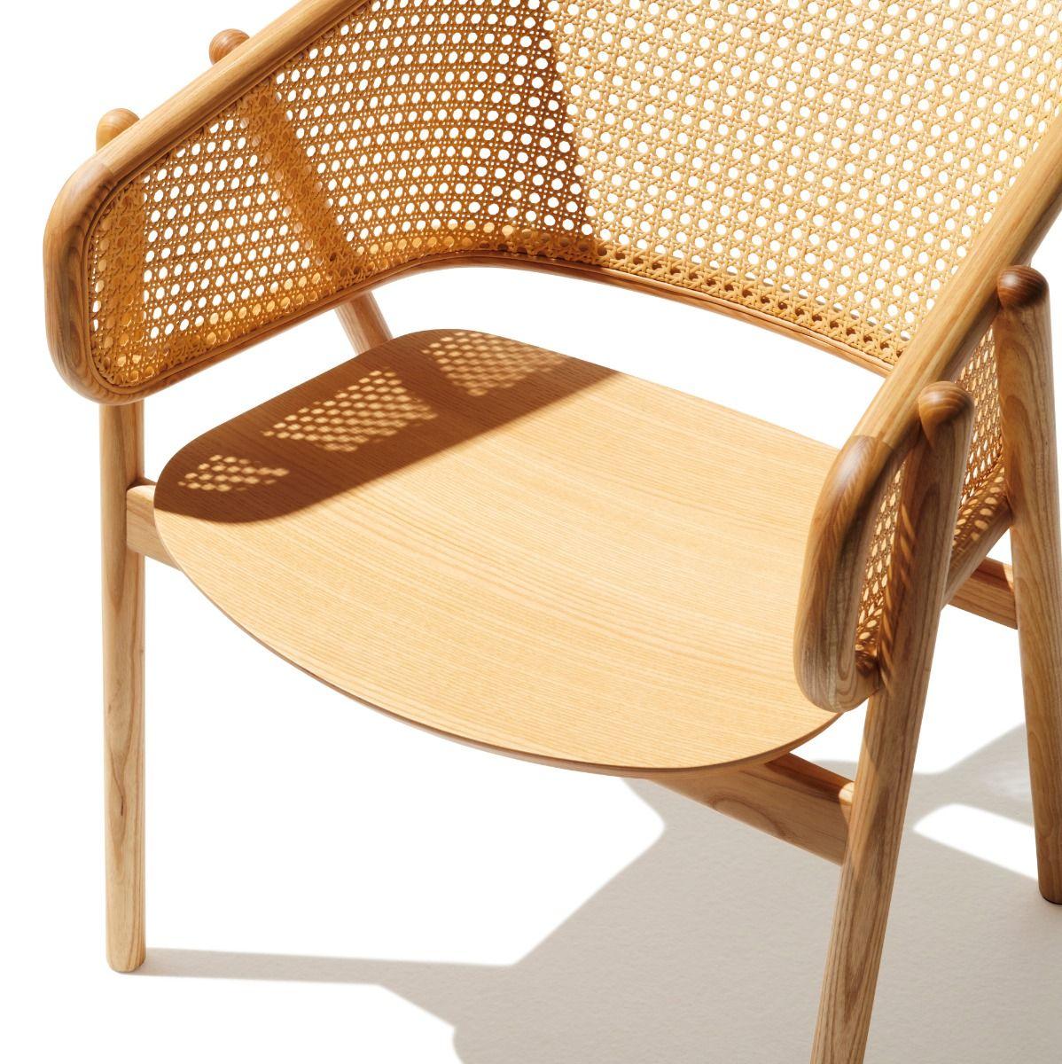 Cane Armchair Natural