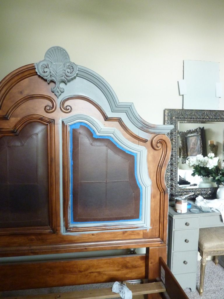 Painting Headboards Distressed Finish Furniture