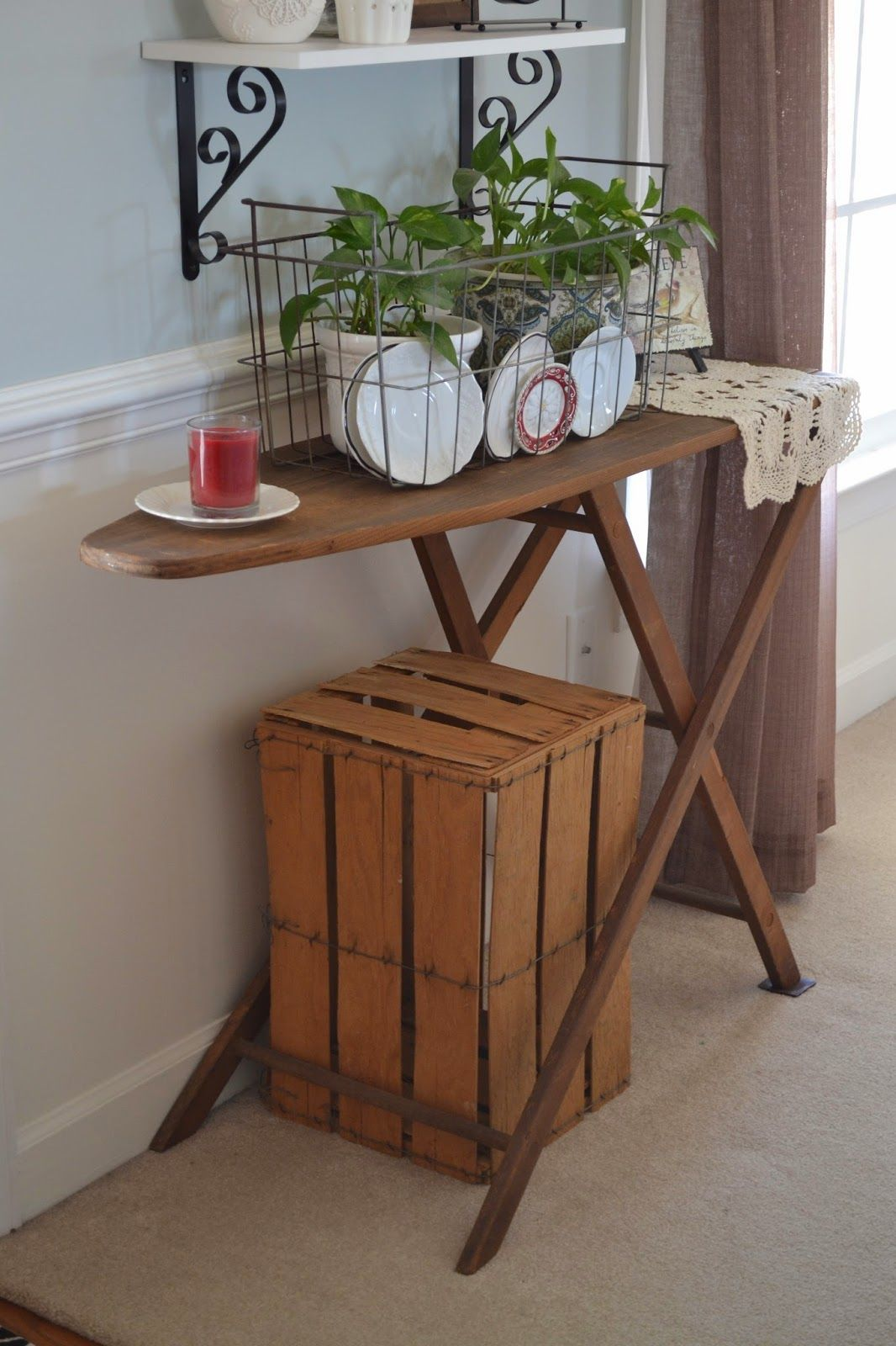 Antique Ironing Board Decorating Google Search Upcycles