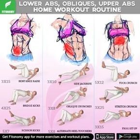 lower abs  obliques  upper abs  start your new year