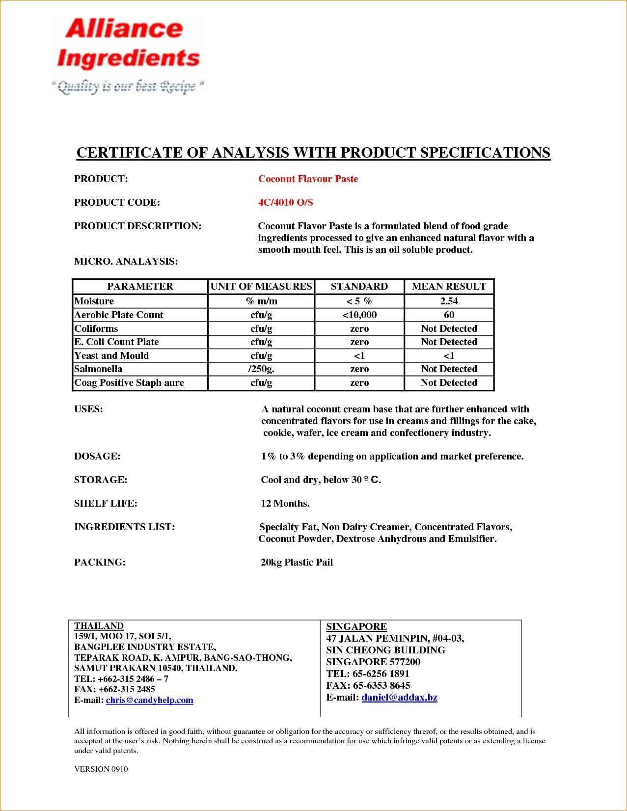 The Amusing Certificates Excellent Certificate Of Analysis Template With Regard To Certificate Of Analysis Te Analysis Business Template Certificate Templates Certificate of analysis template excel