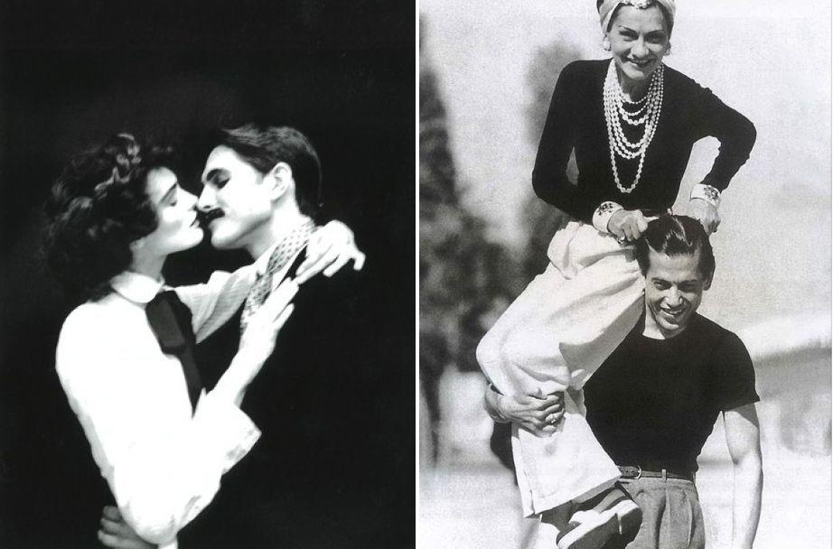 "Coco Chanel and her lover, Captain Arthur Edward ""Boy"" Capel"