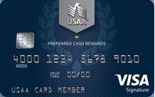 USAA Preferred Cash Rewards Visa® Signature | USAA