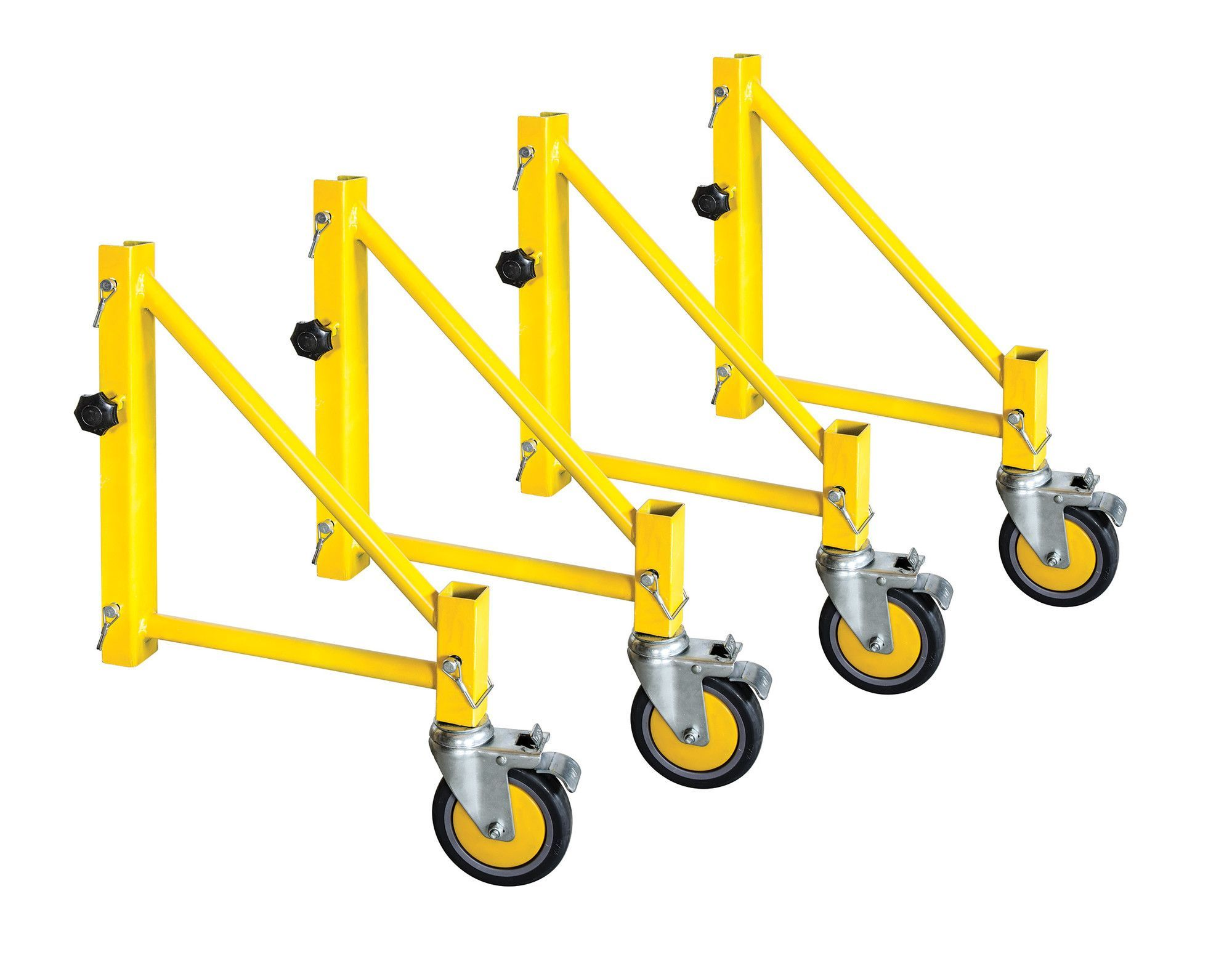 Perry Scaffolding On Stairs : Jobsite series steel perry style scaffold outriggers