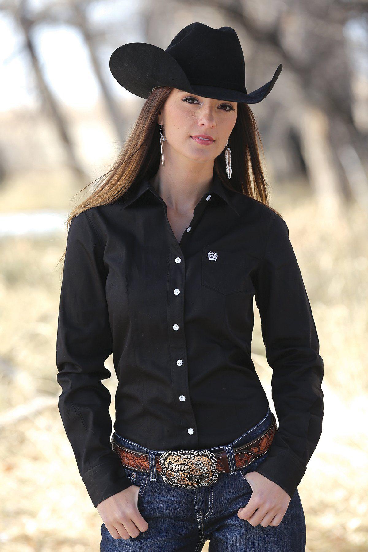 8d8ff8ce57 Solid - Button Up Ropa Vaquera Para Damas