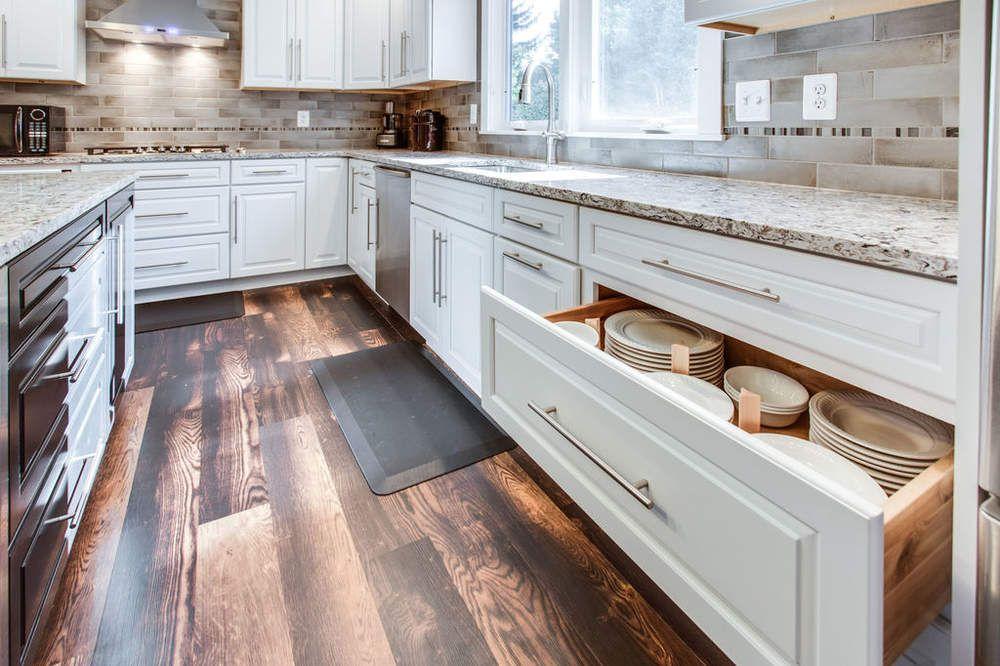 White & Black Kitchen Design Ideas from Reico | Black ...