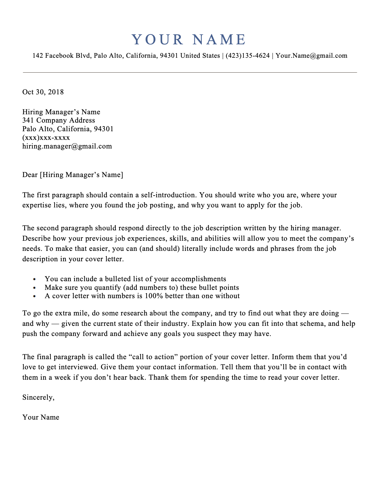 simple cover letter templates template resume format for telecom experience ceo examples 2019 bpo pdf download