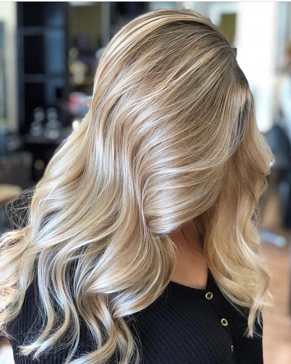 The Top Pros Cons Of Going Blonde Balayage Frisuren Haarfarben