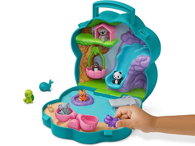 Carry Around Animal Town Learning Toys Kids Toys Diving Board