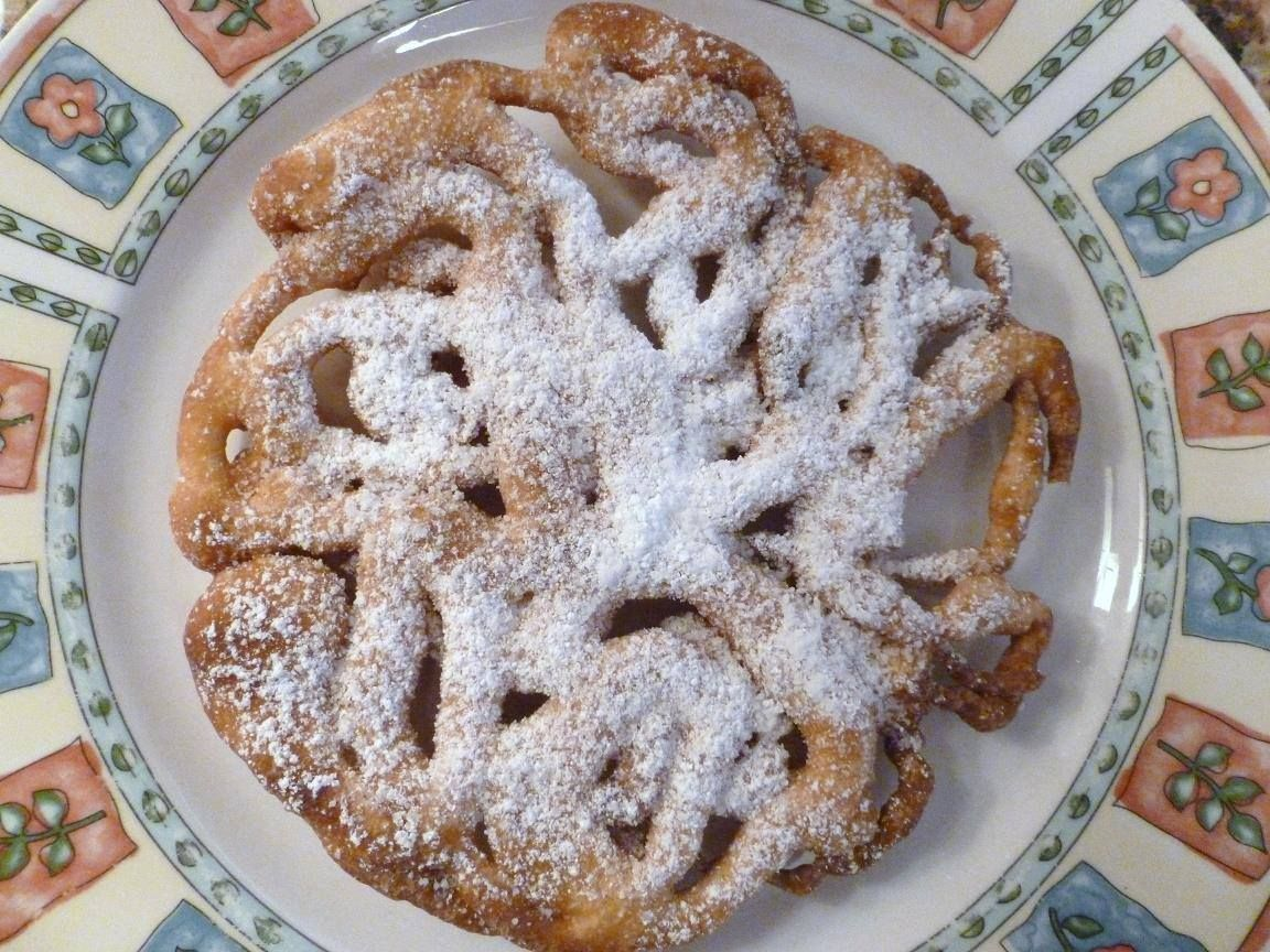 Funnel cakes with aquafaba fried dough funnel cakes 3