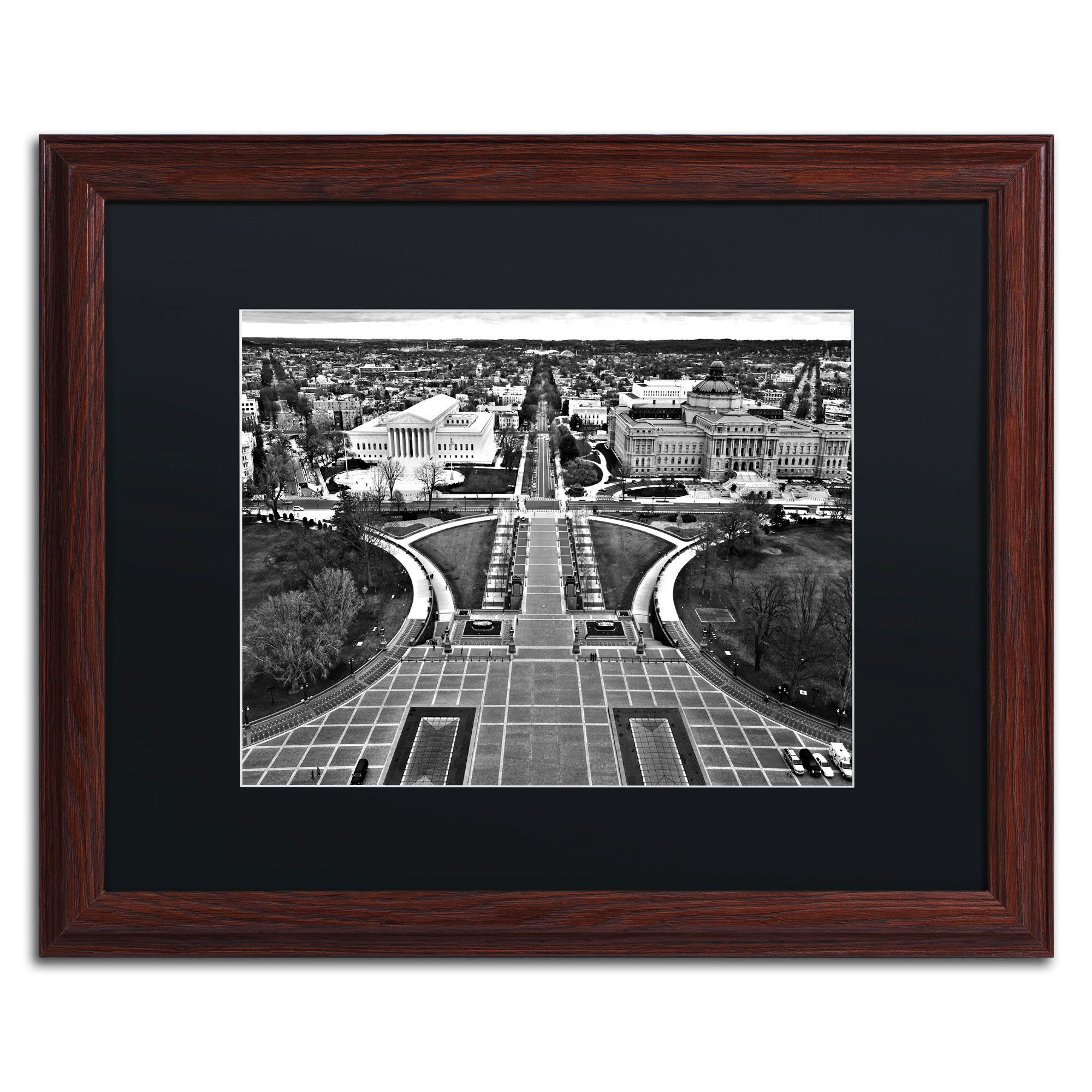 Washington, DC\' by CATeyes Framed Photographic Print