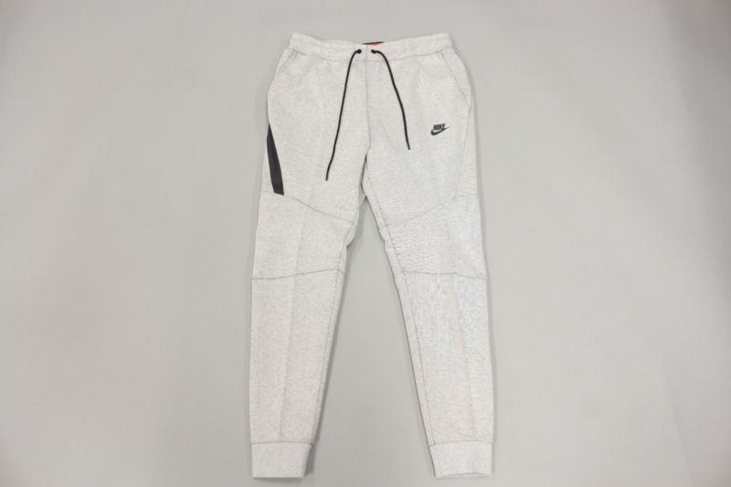 Prever Loco Fructífero  NIKE MENS NSW TECH FLEECE JOGGERS PANTS WHITE HEATHER BLACK 805162 100 SZ L  | Tech fleece, Fleece joggers, Heather black