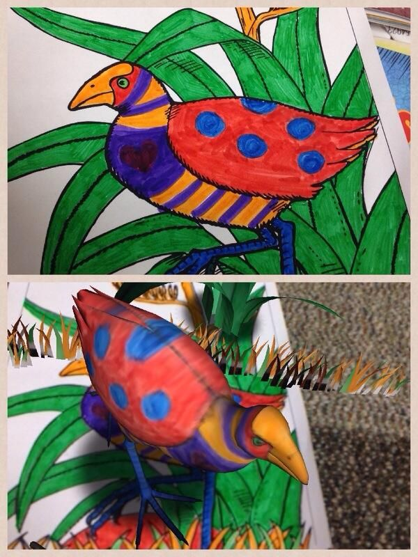Quiver 3d Coloring App Quiver Coloring Pages Drawings
