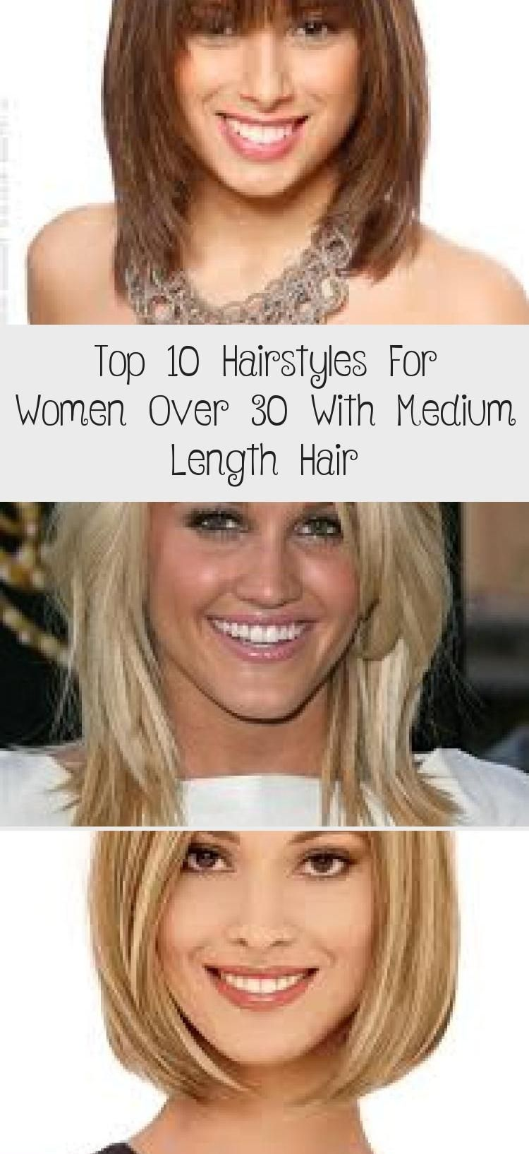 Top 10 Hairstyles For Women Over 30 With Medium Length ...