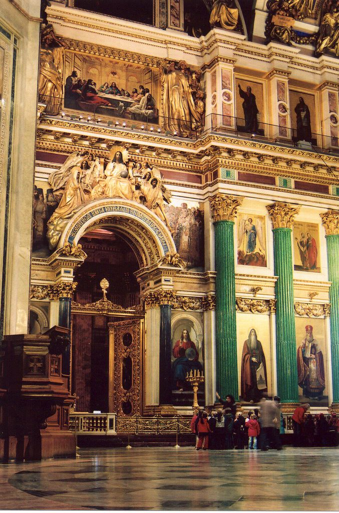 Saint Isaac's Cathedral - Saint Petersburg, Russia