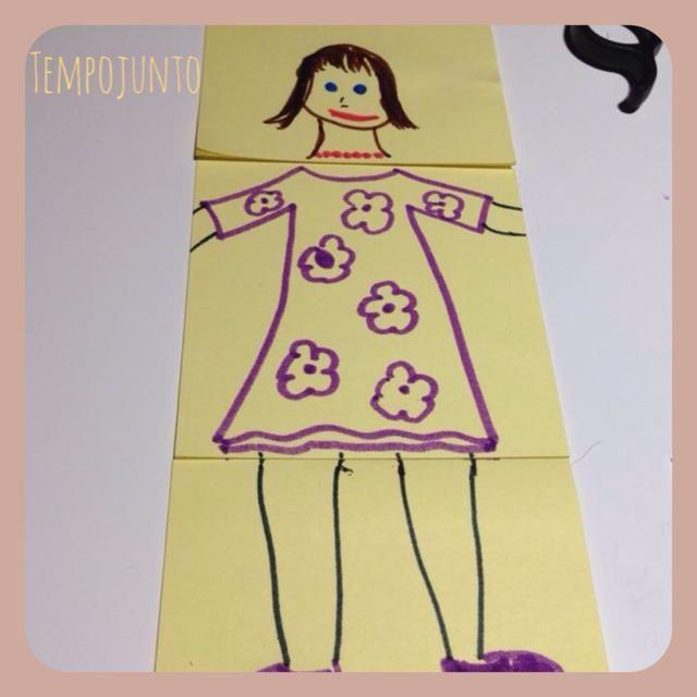 Atividades para crianças com post it - diversão garantida (: